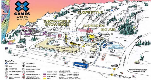 X Games Aspen 2019 Brings X Fest to Buttermilk Mountain