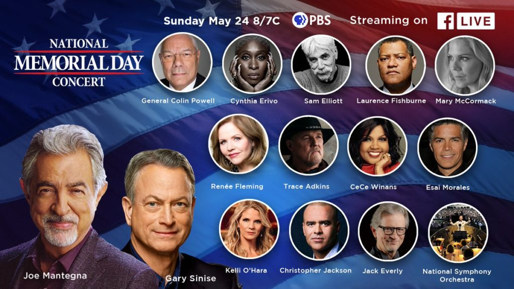 Broadcast on PBS on the eve of Memorial Day!